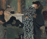 Edouard Vuillard the flowered dress china oil painting reproduction